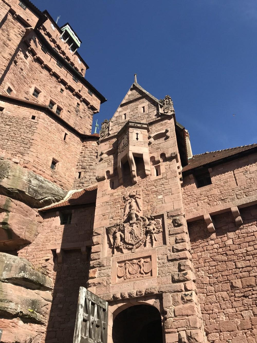 Imponente desde a entrada, esse é o Haut-Koeningsbourg