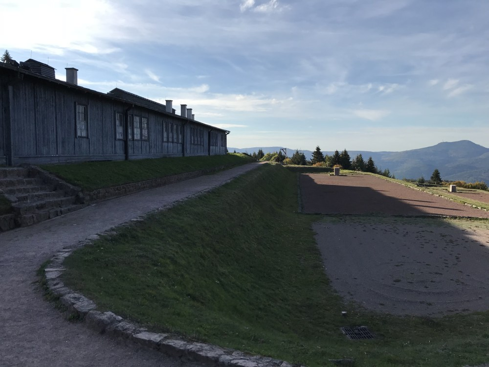 A ambientação original foi mantida nessas casas de Struthof