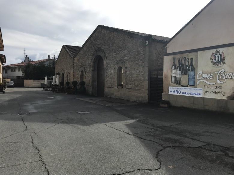 A vinícola Gomez Cruzado, situada em Haro, Rioja
