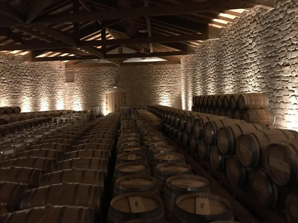 Barris na vinícola Muga, em Haro, Rioja