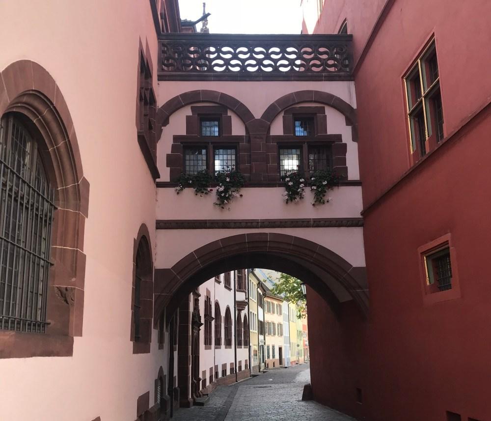 Ruelas do centro antigo de Friburg