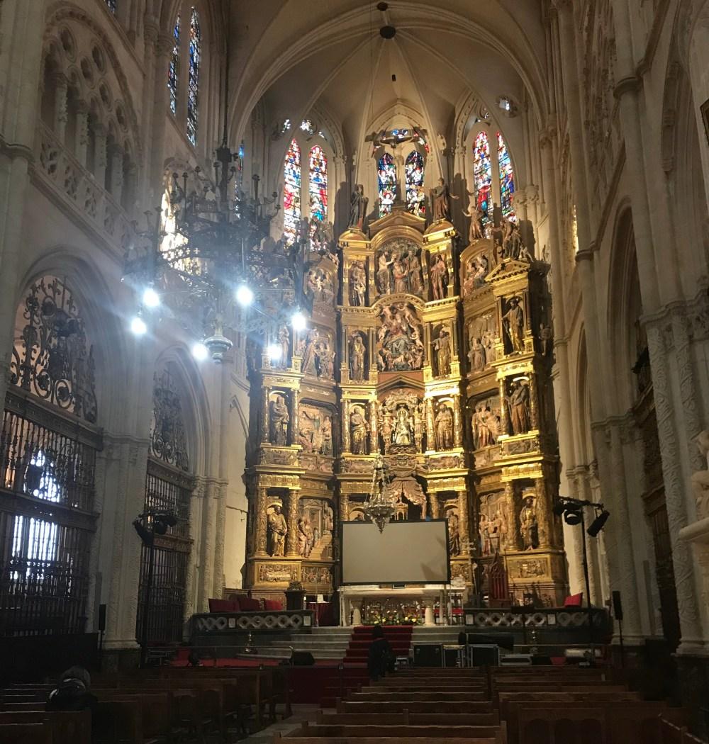Uma das capelas da Catedral de Burgos
