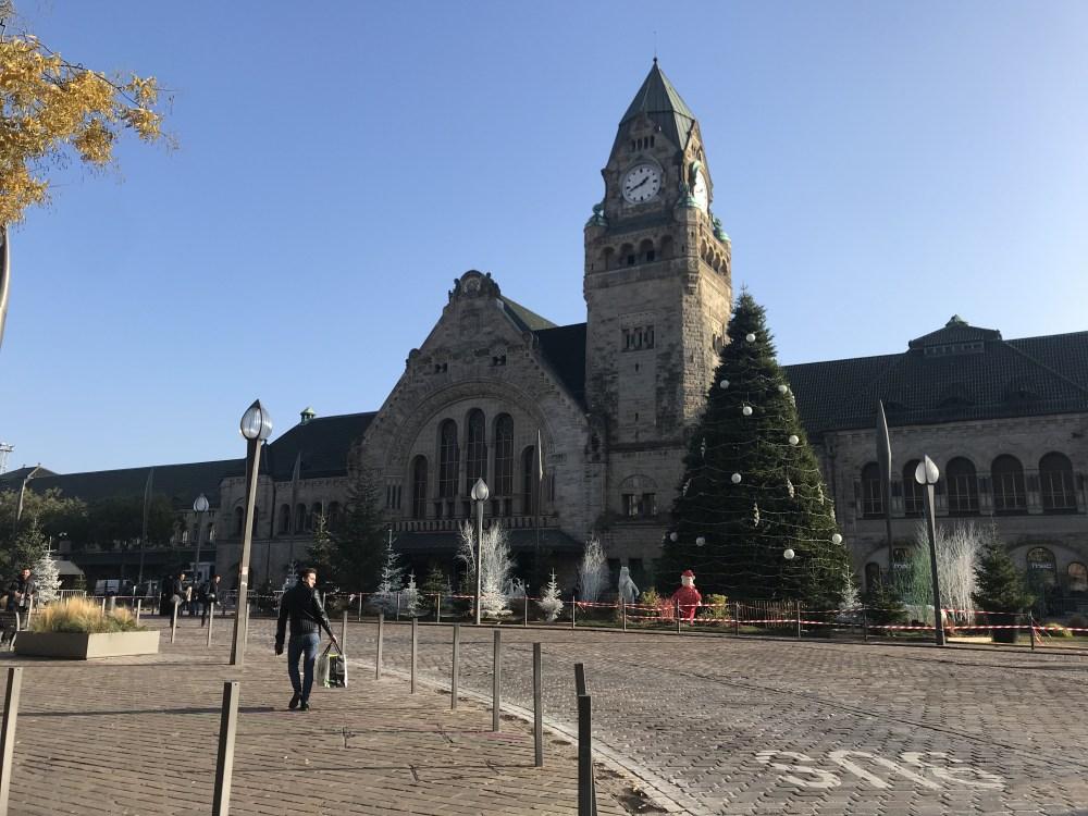 A linda estação central de Metz