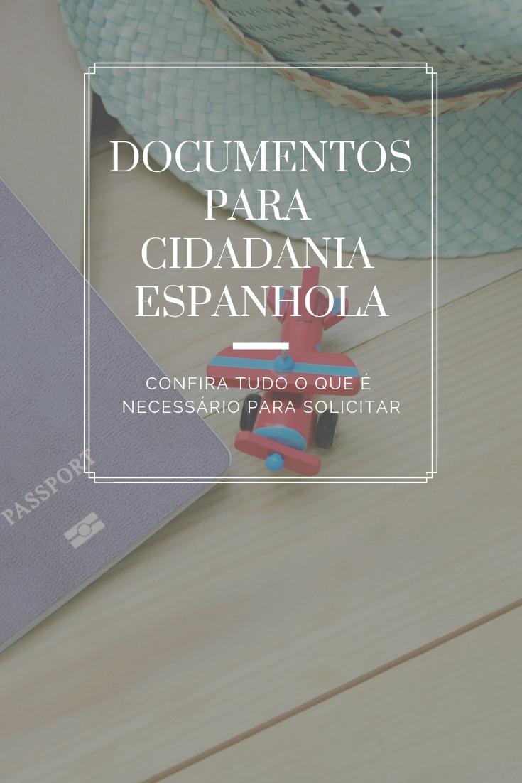 Documentos para cidadania espanhola