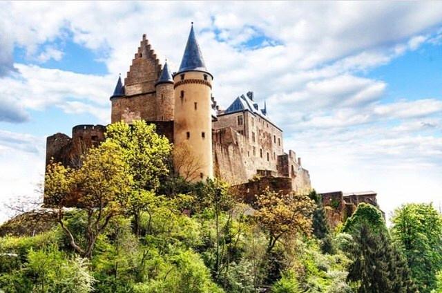 Castelo de Vianden. Fonte: Crushtravels