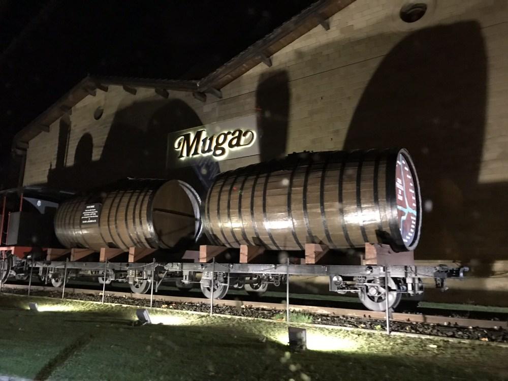 A vinícola Muga, em Haro, Rioja