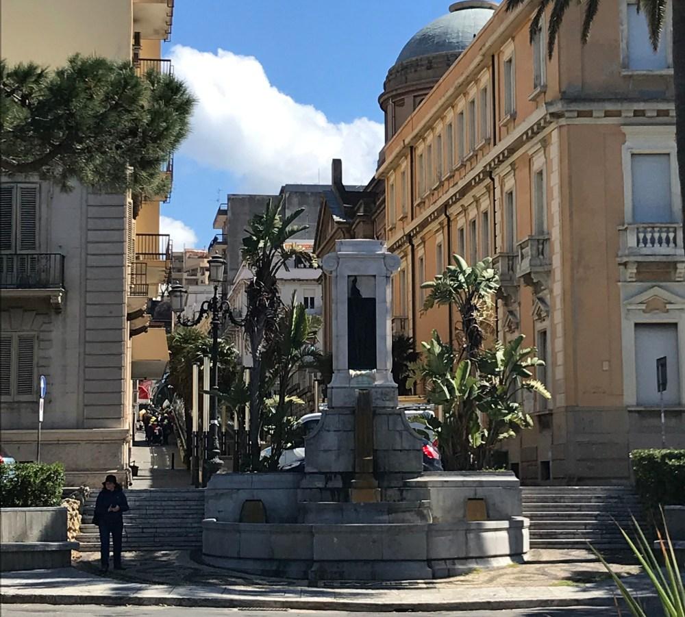 As ruas de Reggio Calabria