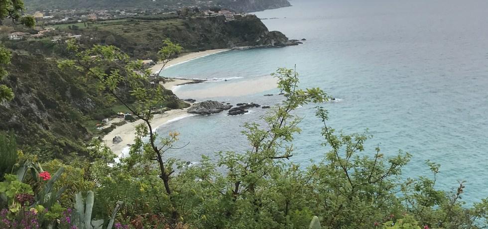 As belas águas de Capo Vaticano, na Calábria