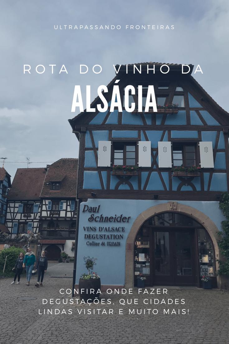 Roteiro de viagem na rota do vinho da Alsácia