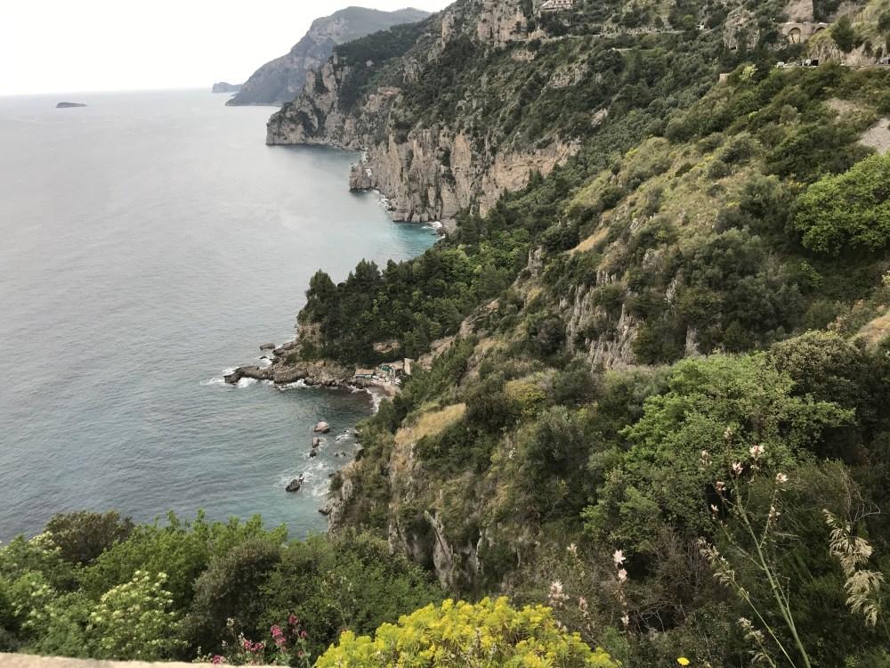 As paisagens da Costa Amalfitana, na Itália
