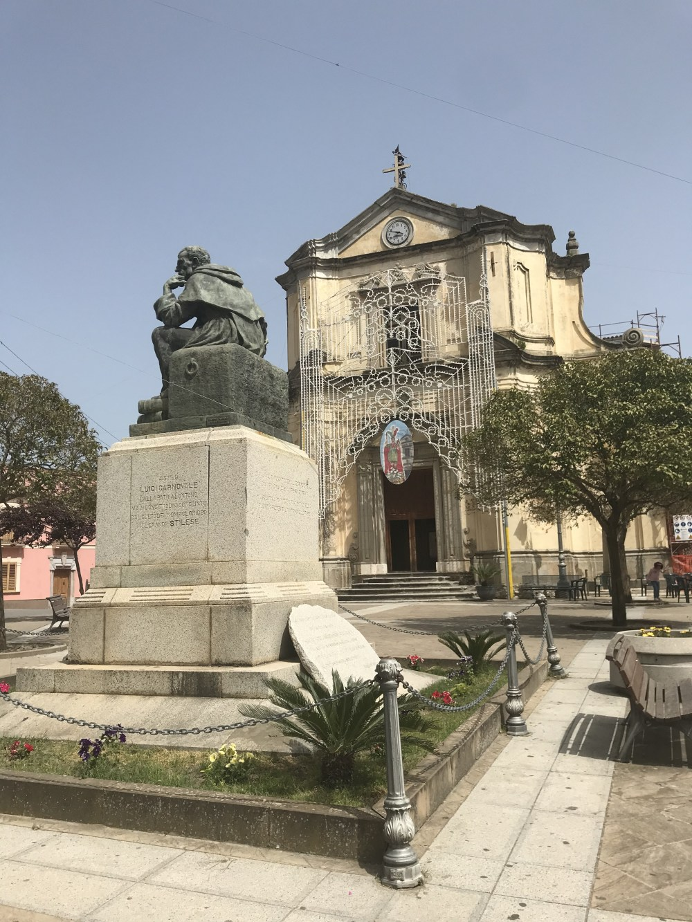 A igreja de São Francisco de Stilo, Calábria