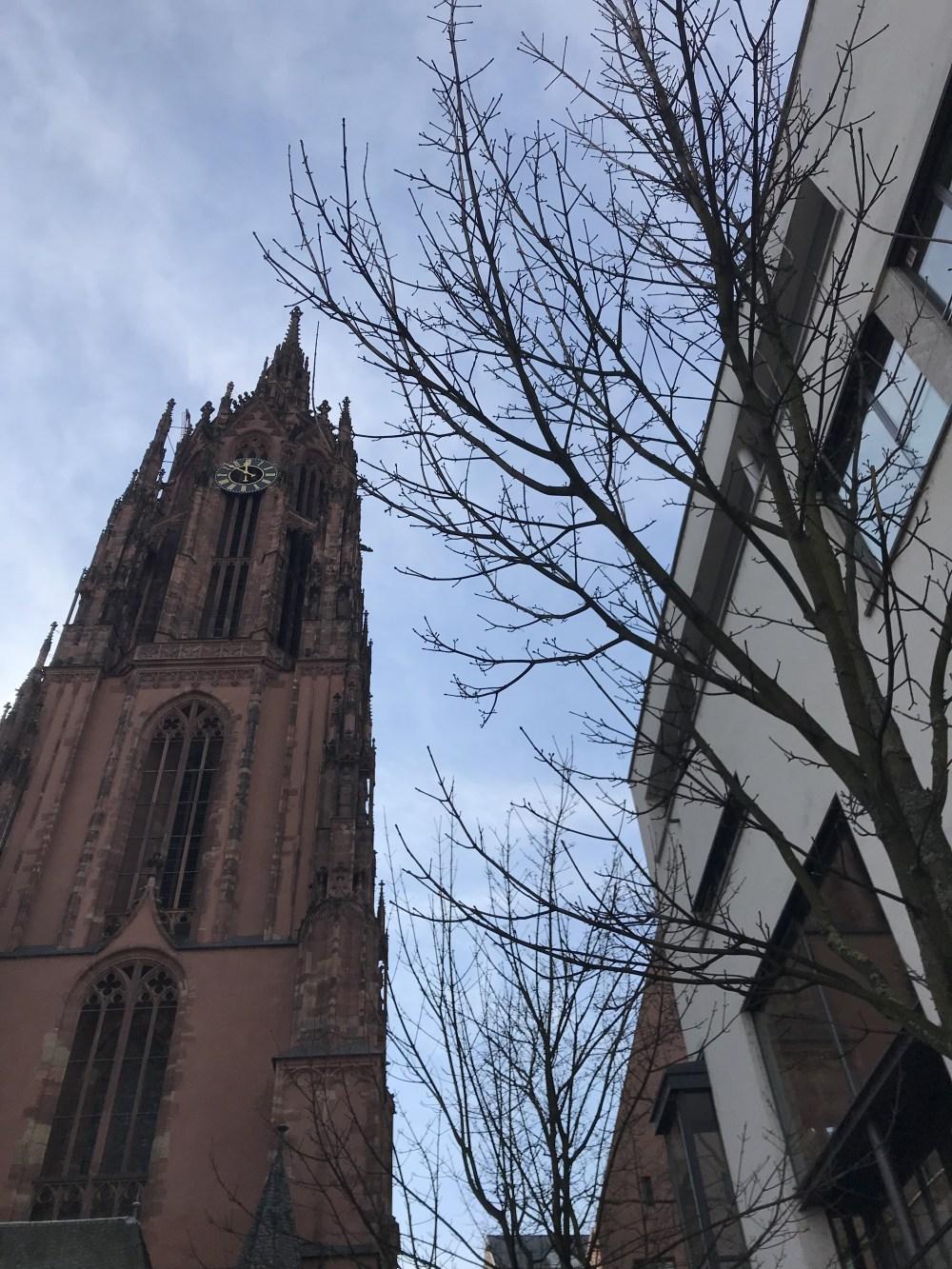 A catedral de Frankfurt