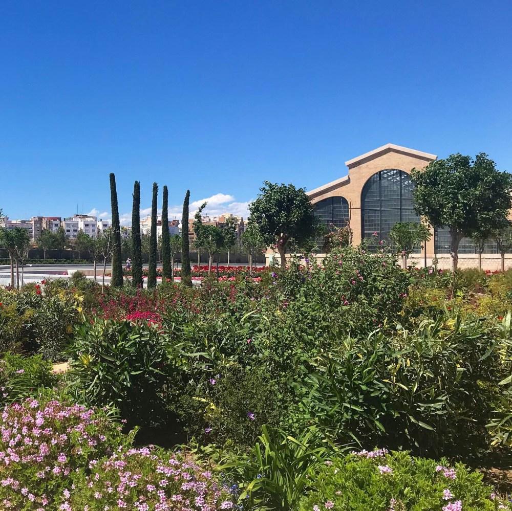 O Parque Central é o mais novo da cidade e fica em Russafa