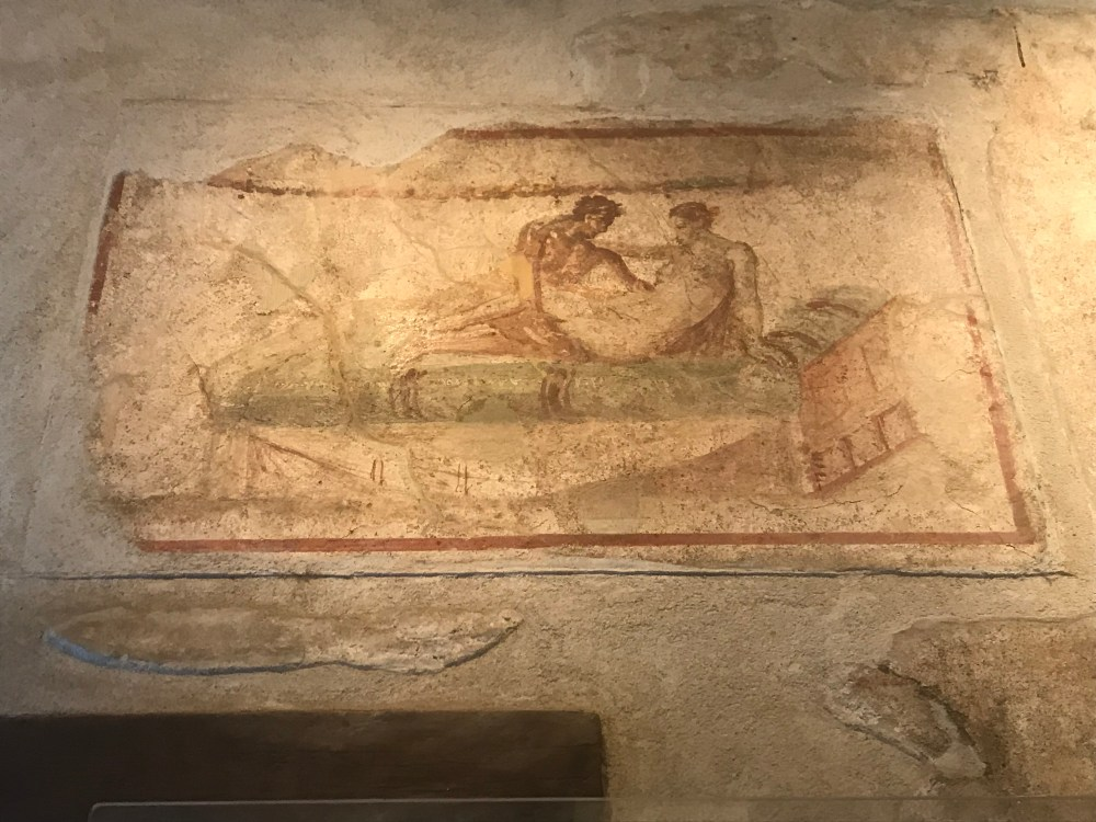 Kama Sutra marca presença em Pompeia. Seria um adereço decorativo de moradia?