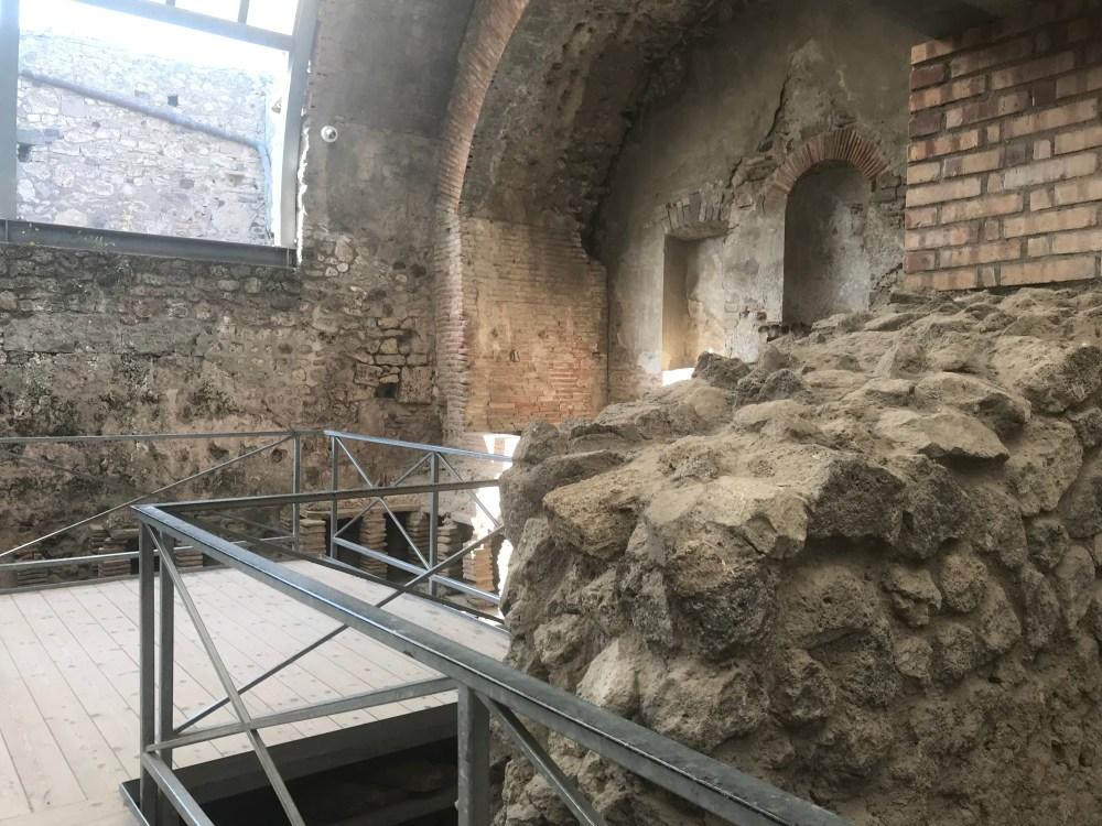 Uma das termas de Pompeia