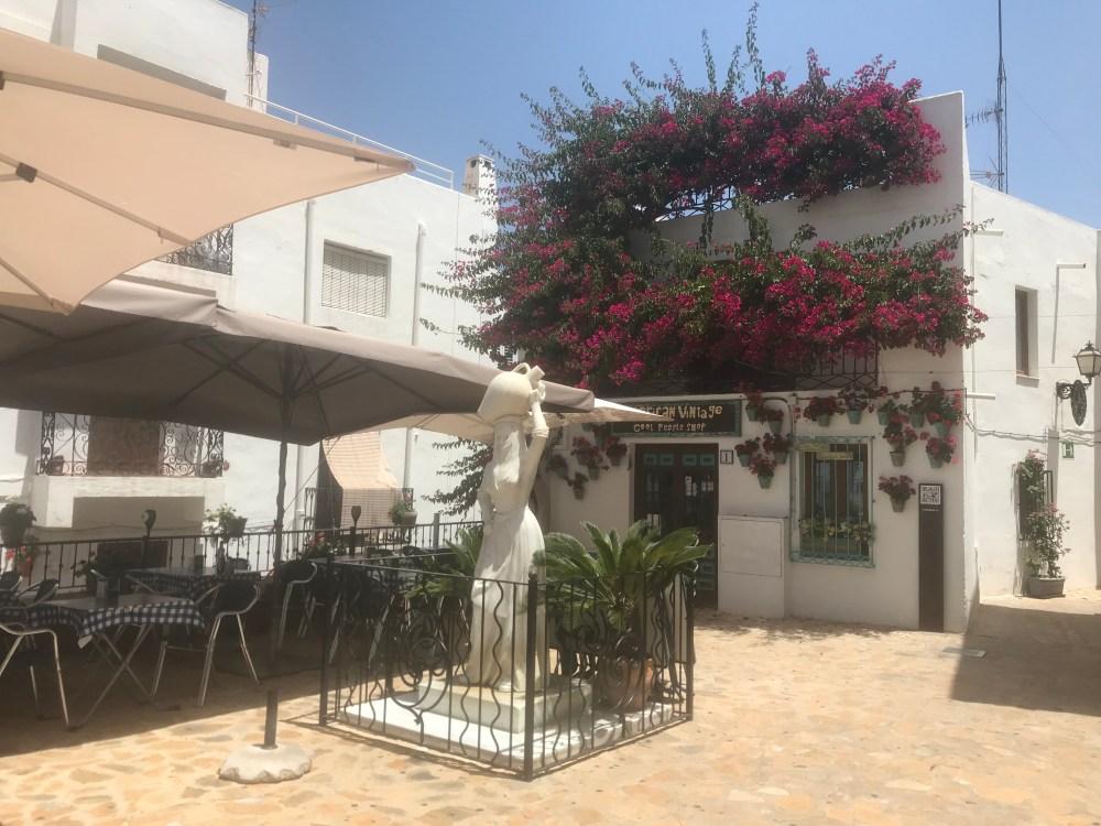As ruas charmosas de Mojácar, Almeria