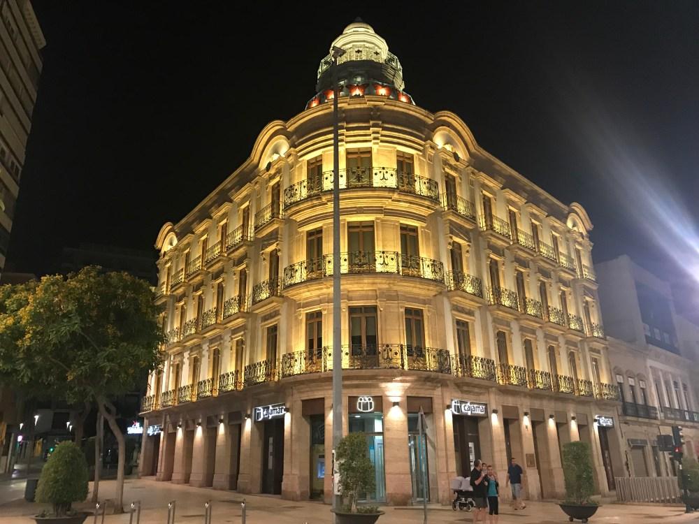 Arredores do Paseo de Almeria