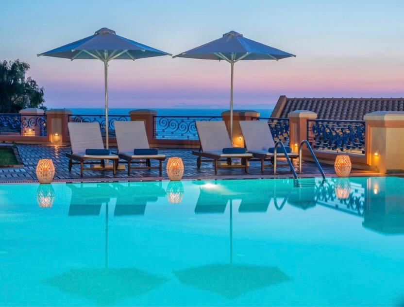 Philoxenia é um hotel com gestão familiar e muita atenção ao hóspede. Foto: Booking
