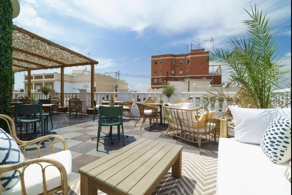 Blanq Carmen Hotel é opção para quem quer ficar exclusivamente nesse bairro de Valencia
