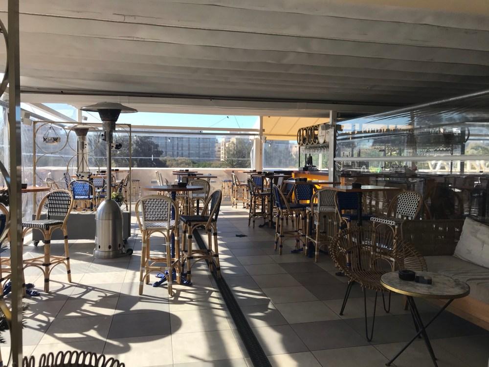 Atic do Palau Alameda é um bom endereço para drinks da lista dos melhores rooftops de Valencia