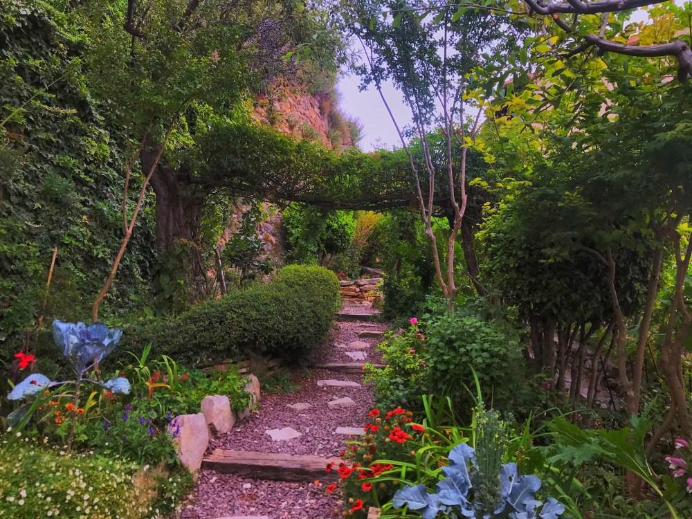 O Jardin de los Poetas de Morella, na Espanha