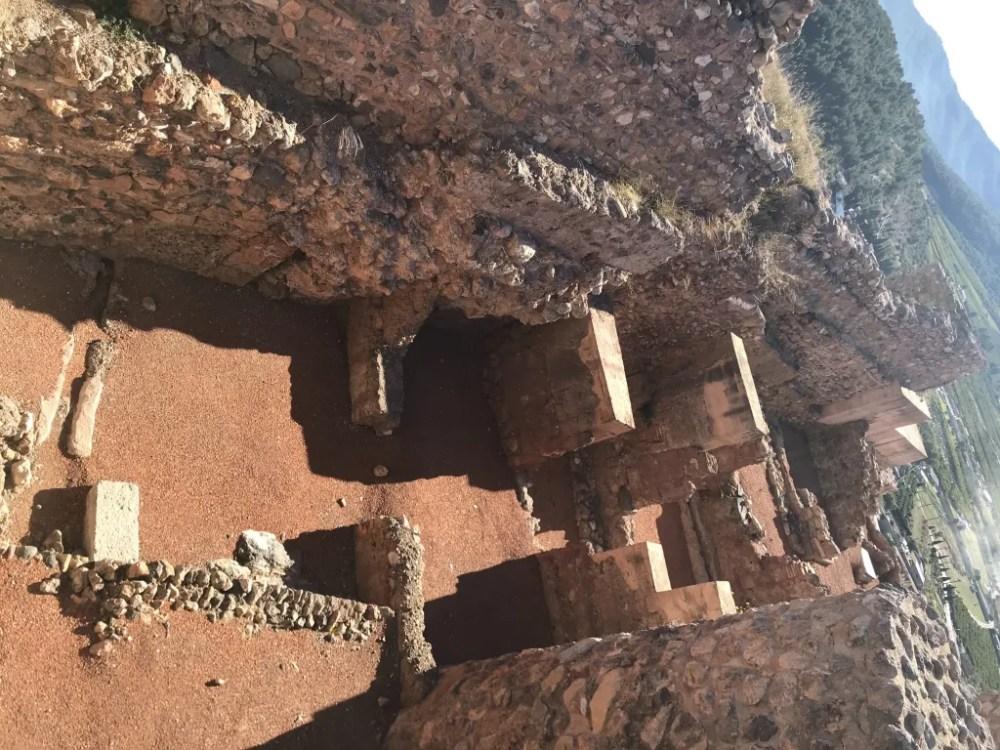 As escavações ainda estão em curso no Castelo de Onda, em Castellón