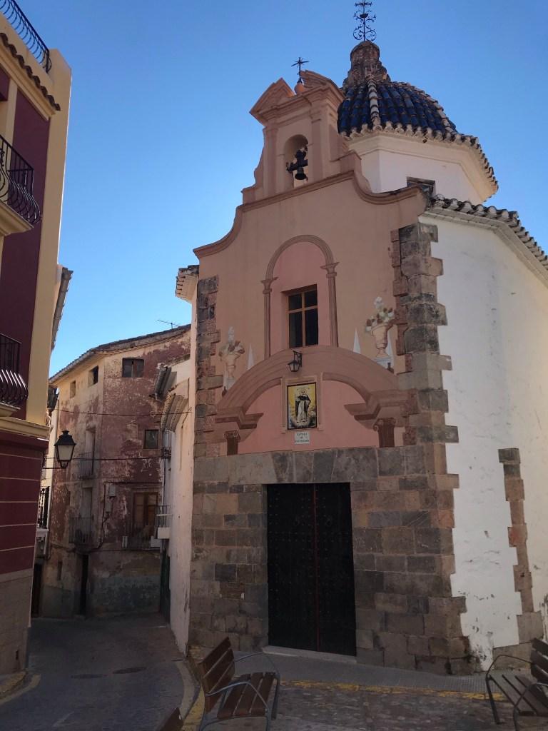 A capela San Vicente Ferrer está na lista do que fazer em Onda, Castellón
