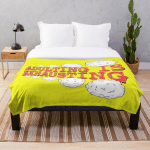 """Throw Blanket that says """"Adulting is Exhausting."""""""