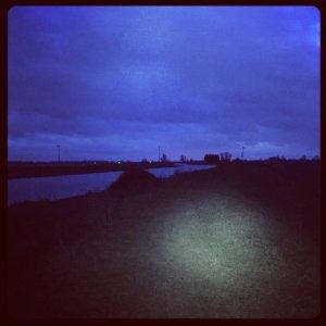 Running by torchlight