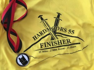 Finish T-Shirt and Medal