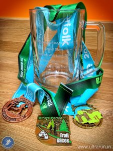 Positive Steps Grand Slam 2015 Tankard and Medals