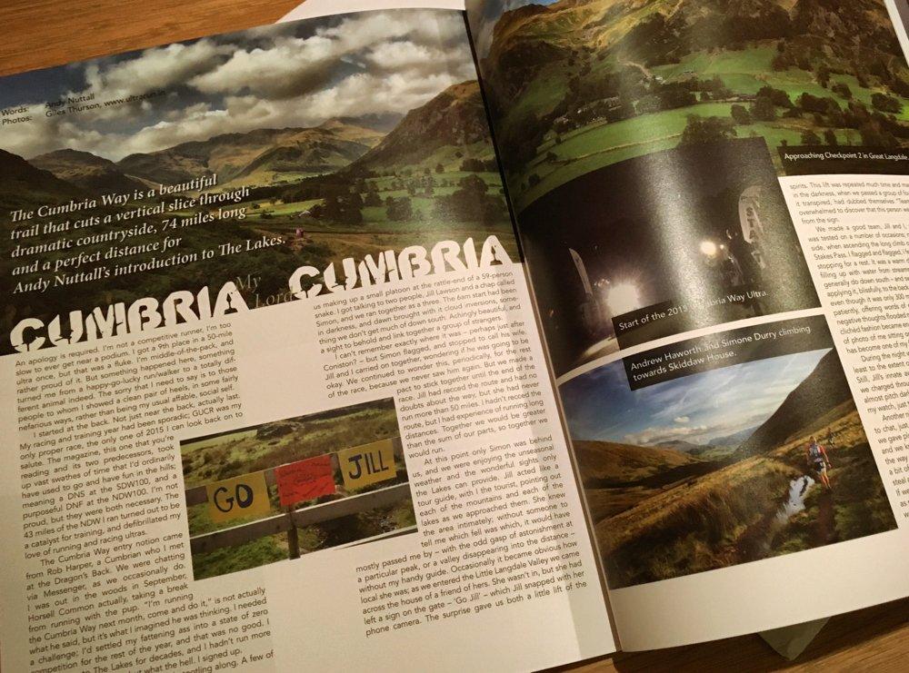 Ultrarun.in photos in Ultra Magazine