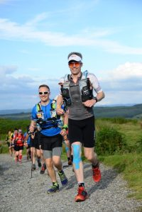 Giles and Andy on The Walna Scar Road. Photo courtesy of SportsSunday