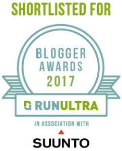 Vote for me in the RunUltra Blogger Awards 2017