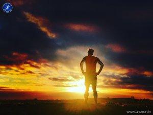Enjoying a Fenland sunrise