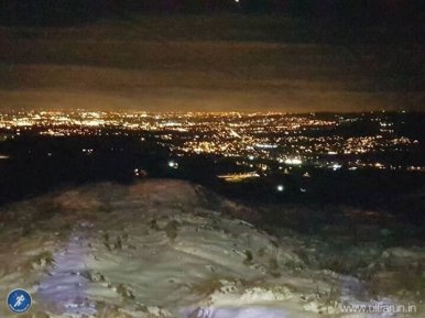 The lights of Greater Manchester. Company so near but so far!