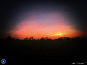 Last light on The Winter Poppyline