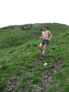 Day 3 - Lingmoor Fell descending into Langdale