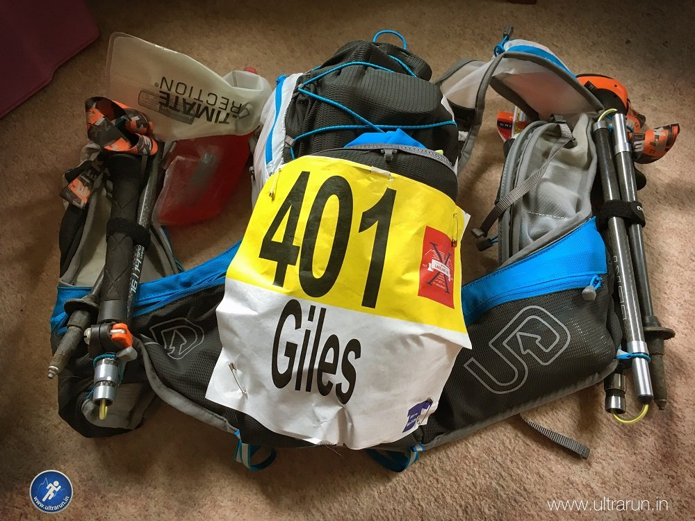 Kit sorted for 2017 Lakeland 100