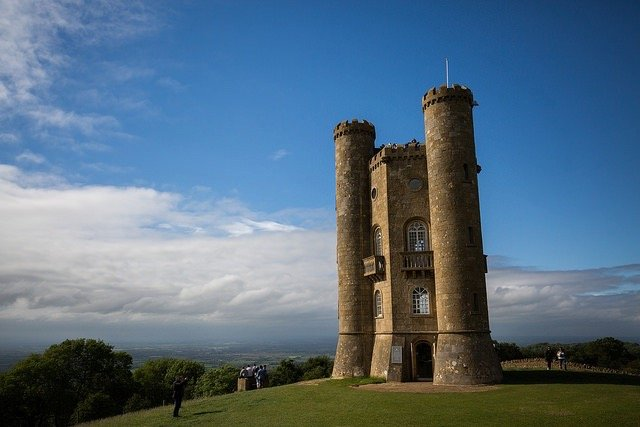Broadway Tower, The Finish on Race to The Tower