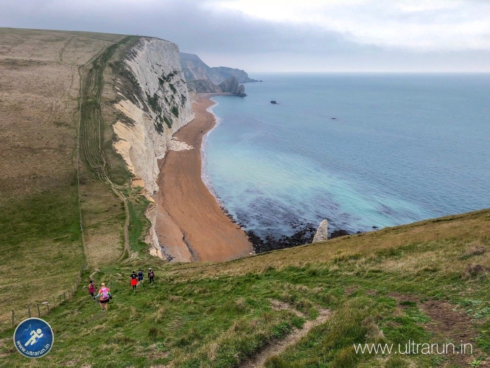 The Cliffs Before Lulworth Cover and Durdle Door