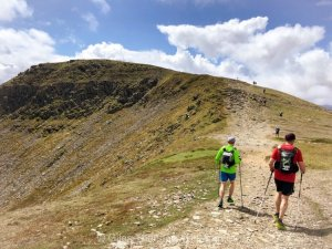 Dragons Back 2019 / Day One: Final Ascent in The Carneddau