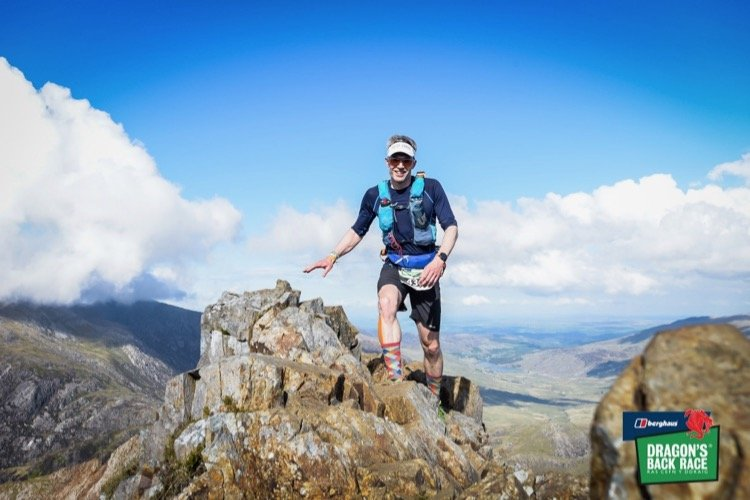 Dragons Back 2019 / Day One: Giles On The Crib Goch Traverse