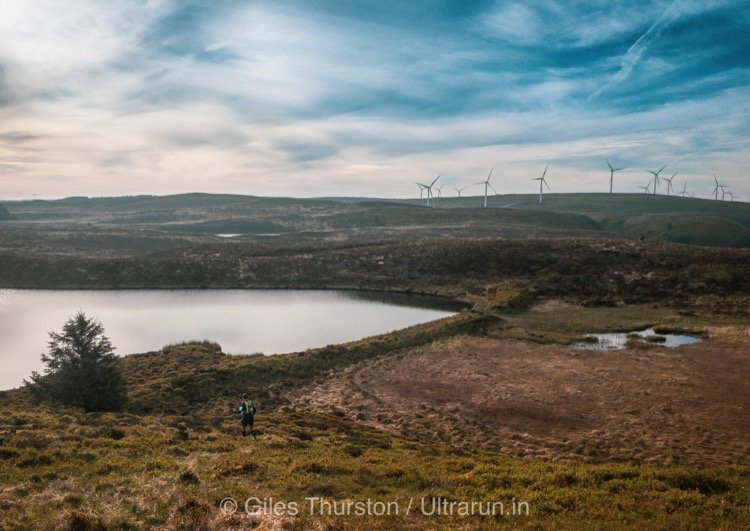 Dragons Back 2019 / Day Four: Rough and Boggy Crossing to The Wind Farms