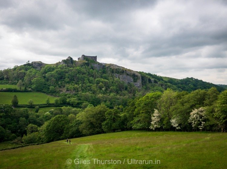 Dragons Back 2019 / Day Five: Passing Under Carren Cennen Castle