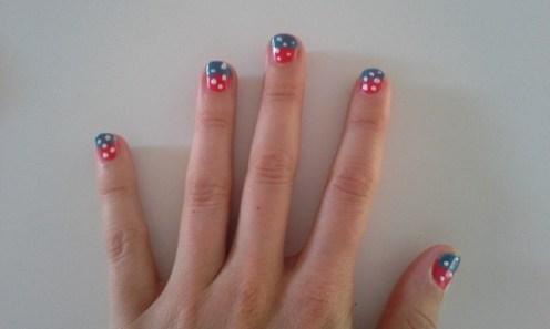 Merrill's Mile 2016 nails