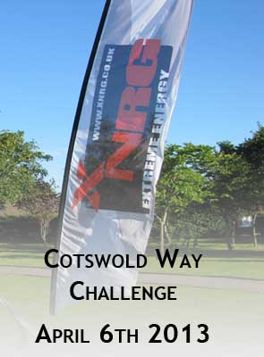 The Cotswold Way Challenge 2013