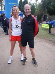 Angie Sadler and Jeremy Mower at the Anglo Celtic Plate
