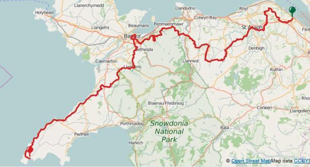 North Wales Pilgrims Way Ultra 2018
