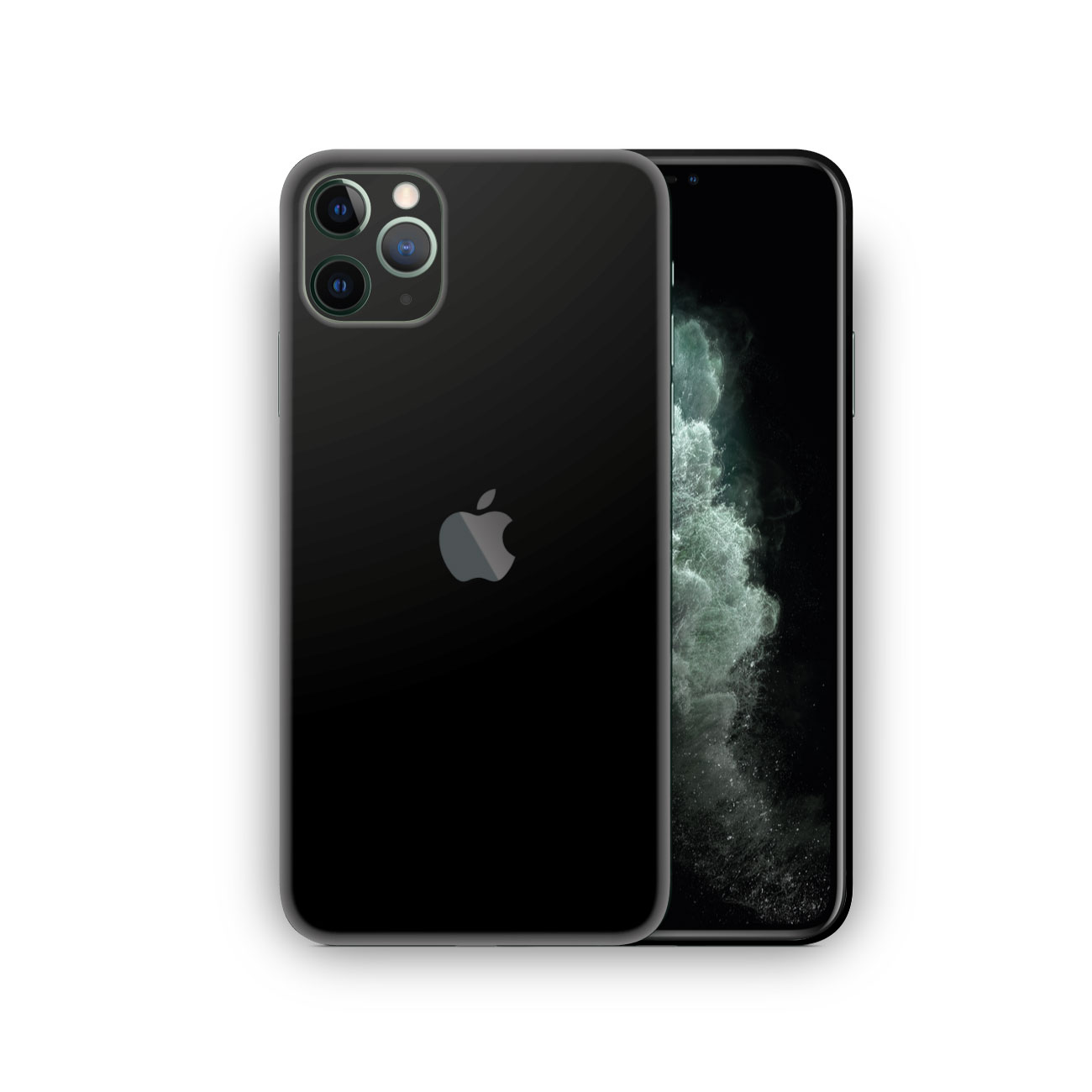 Apple iPhone 11 Pro Max Matte Black Vinyl Skin Wrap